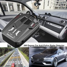Автомобиль дальнобойщик скорость V9 лазерный радар-детектор голосовое предупреждение DC 12 В 16 группа 360° авто