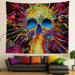 $enCountryForm.capitalKeyWord NZ - Abstract Design and Sublimation Printed High Definition Colorful Custom Size 400g Wall Tapestry for Home Decoration
