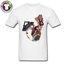 Pin Up Sex Alice Bomb Camisetas para hombres adultos New Fashion White Cheap Good Tshirt On Sale New Coming Casual Tops Tees