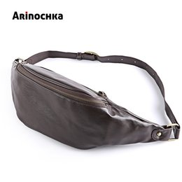 $enCountryForm.capitalKeyWord Canada - Fashion Leather Waist Bag for Men Fanny Pack PU Leather Belt Bag Chest Travel Pack Belt Bag Money Pouch Male Molle anti-thieft