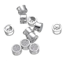 Crystal Cross Connector Jewelry Australia - Wholesale Handmade Jewelry DIY Findings Loose Beads Rhinestone Crystal Spacer Beads Bracelet Necklace Connectors Charms Accessories Fittings