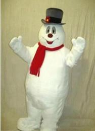 Wholesale mascot kit online – ideas 2018 Hot sale MASCOT CITY Frosty the Snowman MASCOT costume anime kits mascot theme fancy dress carnival costume