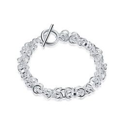 $enCountryForm.capitalKeyWord NZ - Faucet TO Bracelet sterling silver plated bracelet ; Free shipping men and women 925 silver bracelet SPB033