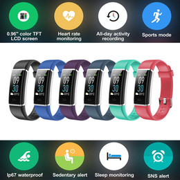 $enCountryForm.capitalKeyWord NZ - Color Screen Smart Wristband Band Sports Bracelet Heart Rate Carories Activity Fitness Tracker for  ONE M8s X9 10 evo 10 Pro