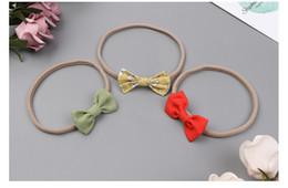 $enCountryForm.capitalKeyWord Australia - 12Pcs Baby Small Bow Headbands Elastic Hair Bands Toddler Newborn Photographed Props Headwear Hair Accessories Beautiful HuiLin BH46