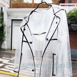 Großhandel Wasserdicht Klar Regenmantel Für Mann Frauen Flut Outdoor Reise Regenjacken Hohe Qualität Kleine Regenbekleidung Einfach Tragen Design 25 5lr2 cc