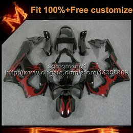 cbr929rr fairings Australia - 23colors8Gifts Injection mold red flames motorcycle panels for HONDA CBR929RR 2000-2001 CBR 929 RR 00 01 ABS Plastic Fairing