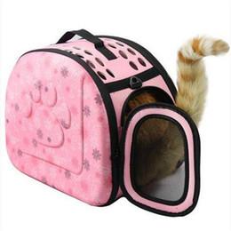 Shoulder Dog Carriers NZ - wholesales free shipping Portable Handbag Pet Dog Travel Carrier Outdoor Shoulder Bag Dog Supplies