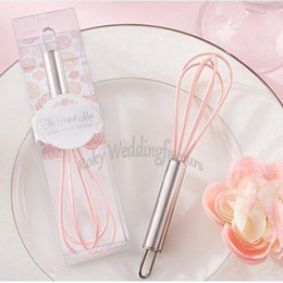 gift idea wholesale Australia - 100PCS The Perfect Mix Egg Beater Wedding Favors Bridal Shower Engagement Party Supplies Event Gifts Anniversary Ideas