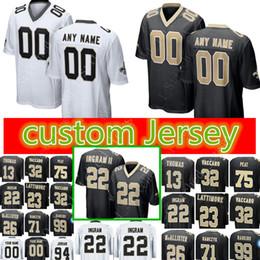 New Orleans Custom Saints Jersey 22 Mark Ingram 37 Steve Gleason 94 Cameron  6 Thomas Morstead 43 Marcus Williams Football Jerseys 777b0a0fb