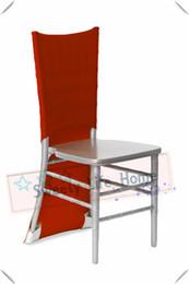 $enCountryForm.capitalKeyWord UK - 50pcs Red Lycra Spandex chiavari chair covers  Wedding Strech outdoor chair covers spandex chair caps for party Events decorations