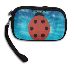 ladybird ladybug 2018 - Ladybug Ladybirds Funny Coin Purse Wallet Wristlet Pouch Coin Wallet Zipper Change Holder cheap ladybird ladybug