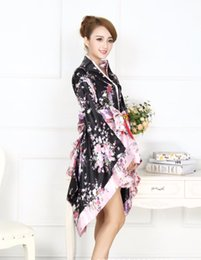 Discount japanese geishas - Japanese kimono traditional girl Geisha girl cosplay Cherry blossoms womens females Cherry suits cosplay floral cos Cost