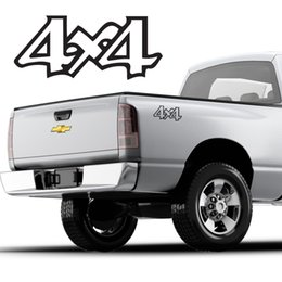$enCountryForm.capitalKeyWord Australia - For (2Pcs)4x4 Truck Bed Decals, Curly letter design fits GMC, CHEVY, FORD, etc.