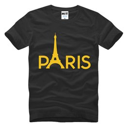 $enCountryForm.capitalKeyWord Canada - Creative Paris Eiffel Tower Printed Mens Men T Shirt T-shirt Fashion New Short Sleeve O Neck Cotton Tshirt Tee