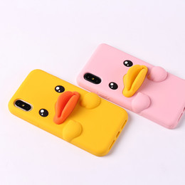 Rabbit Silicone Phone Cases UK - 3D Cute Cartoon Pocket Cat Baby Duck Bear Rabbit Cactus Fashionable Soft Silicon Phone Cover for IPhone X 5S 6 7 8 plus Phone Cover