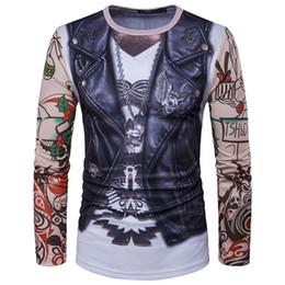 266bfd00a35 Funny Vest Tattoo 3d Printing T Shirt Men Women 2018 Brand New Long Sleeve  T Shirt Homme Casual Camisetas 3D Print T-shirt Mens