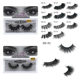 e0576751e0f Dhl eyelash extensions online shopping - New Brand HUAPAN D Mink Eyelashes  Eyelashes Messy Eye Lash