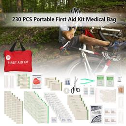 Großhandel 101/230 stücke erste-hilfe-kit Medium Leere Haushalt Verbandskasten Outdoor Car Bag sicherheit Überleben Medcine Reise Rettungsbeutel