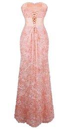 Ангел-моды с плеча шифон цветы Ruched длинные вечерние платья розовый VESTIDO DE NOVIA 343