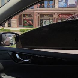 Sun Side online shopping - 2pcs UV Protection Car Window Film UV Sticker Visor Shield Car Window Sun Shade Cover cm Piece Rear Side Window Sunshade