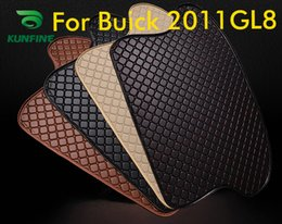 Trunk Liner Carpet Australia - Car Styling Car Trunk Mats for Buick GL8 Trunk Liner Carpet Floor Mats Tray Cargo Liner Waterproof 4 Colors Opitional