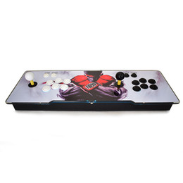 Joystick board online shopping - Pandora S Can Store Games Arcade Console HDMI Output LED Lighted Acrylic Surface Replace Sanwa Joystick PCB Board Arcade Console