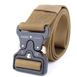 China Military Equipment Quick Release Army Belt Men Heavy Duty Combat Tactical Belts Durable Nylon Strap Waist Belt 4.5cm cheap heavy equipment suppliers