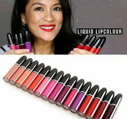 $enCountryForm.capitalKeyWord NZ - brand m lip stick make up Retro Matte liquid lipstick   lip gloss 5ml with name 15 color face cosmetic Lips Makeup B761