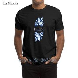 Flux blue online shopping - Design Standard T Shirt Man Flux Gaming Men T Shirt Weird Male Tee Shirt Man New Arrival Round Neck Tshirt For Mens Top Tee