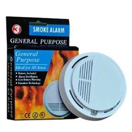 Security Alarms For Homes Australia - Smoke Detector System 9V Fire Wireless Home Burglar Security Alarm Sensor Detectors for Home Office Security