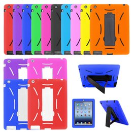 Ipad hybrId sIlIcone cover online shopping - Rugged Hybrid Shockproof Armor Duty Full Protective Cover Case for iPad Air Mini th Gen Pro