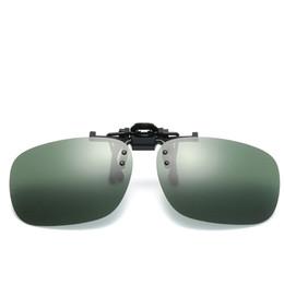 bd60d038b12 Men Women UV400 Flip Up Polarized Sunglasses Clip on Myopia Glasses Kids  Male Travel Sun Glasses Day Night Vision Goggles Oculos