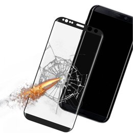 tempered glass mirrors UK - 3D Glass For Samsung S9 S8 Screen Protector Tempered Glass Scratch Proof For Samsung Galaxy S9 Plus S8 Plus Full Screen Protector