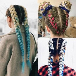 styles for braided hair 2019 - ZhiFan crochet braids twist braiding colorful braids styles for black hair for black women hip-hop street style cheap st