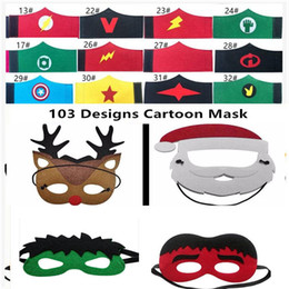 mask designs for children 2019 - 103 Designs Cartoon Felt Mask 2 Layer Cartoon Felt Mask 32 Designs Children Felt Wristband Halloween Cartoon Character B