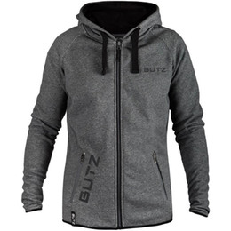 Mens winter hoodies sliM online shopping - BUTZ Printed Mens Brand Designer Winter Coat Casual Hooded Jacket Athletic Windbreaker Male Cardigan Hoodies Gym Clothing