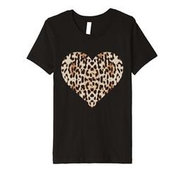 d087954f1fbc Cheetah Shirts Canada - Cheetah Leopard Heart t-shirt Cool Animal Print  Love Symbol