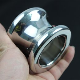Ball Anal Ring Australia - The Anus Dilator Stainless Steel Hollow Ball Anal Ring Anal Plug Anal Sex Toys Toy Adult Game 4 Size for Choice H8-35 Y18110402