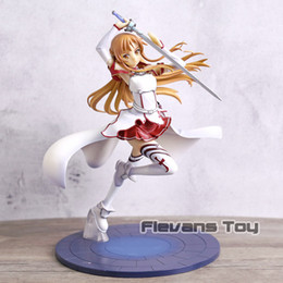 $enCountryForm.capitalKeyWord NZ - Sword Art Online Yuuki Asuna Knights of The Blood Asuna PVC Figure Doll Collection Model Toy