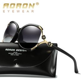 3d3f15b2f03 AORON Brand Women s Asymptotic Color Polarized Lenses Pearl Sun Glasses  Luxury Ladies Designer Sunglasses Women Eyewear A858