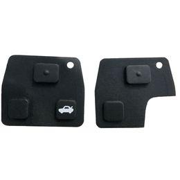 Remote key RubbeR online shopping - 2 Button Key Pad Car Remote Car Key Fob Rubber Pad For Toyota Avensis Corolla Lexus Rav4