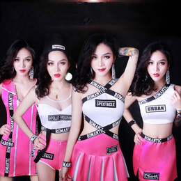 $enCountryForm.capitalKeyWord Canada - Jazz Dance Dress Hip Hop Costumes Pink Cheerleading Costume Nightclub Singer Bodysuit Ds Dj Outfit Pole Dance Clothing DN1738
