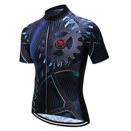 Chinese  Bike Team Men Racing Cycling Jersey Tops Bike Shirt Short Sleeve Bicycle Clothes quick dry Cycling Clothing Ropa Ciclismo manufacturers