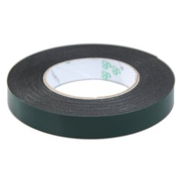 Discount foam tape single sided - Multifunction Black Sponge Foam Double Sided Adhesive Tape 2016