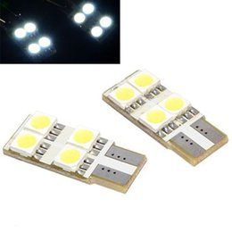 luggage compartments NZ - T10 4smd 5050 LED Car tail box light bulb no polarity Auto Luggage Compartment Lights Reading