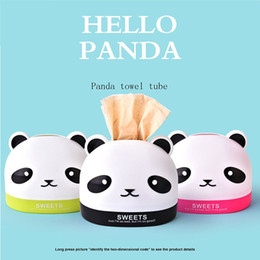 Types Towels NZ - Tissue Box for Home Office Desktop PP Paper Towel Box Hotel Napkin Holder Household Seat Type Canister