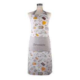 $enCountryForm.capitalKeyWord NZ - KA010 Plain apron with front pocket apront breathable, printed, lovely, anti oil, linen, apron, kitchen, housekeeping, housework