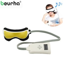 Music Massager online shopping - Air Pressure Eye Massager Glasses Music Wireless Eye Instrument Rubing Vibration Infrared Heater Eye Protection Device