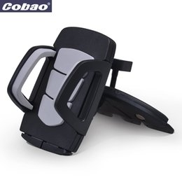 $enCountryForm.capitalKeyWord UK - Coabao Soporte Movil Car CD Dash Slot Stand for Mobile Cell phone Holder Mount for iphone 4s 5 6s plus samsung galaxy s6